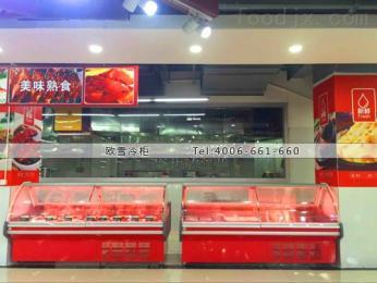 WF-3000SAS四川1.8米內置機熟食冷藏展示柜