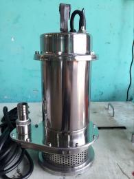 32QDX3-12-0.37QDX单相220V不锈钢小型家用潜水泵