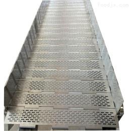 LF-889直销不锈钢链板 耐高温输送链板 挡边式链板
