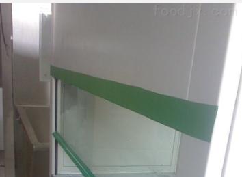 單人單面垂直流升降式玻璃