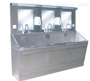 三人醫用洗手池
