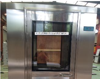 玻璃内置闭门器风淋室