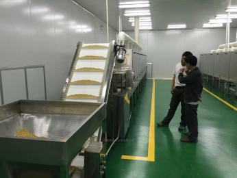KL40s-6隧道式微波五谷熟化设备 五谷杂粮烘焙机