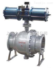 Q647F/H/Y气动固定式锻钢球阀 锻钢固定球阀