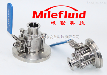 ML-QF食品级不锈钢法兰球阀规格