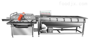 JY-4200净菜加工机械洗菜机大型中央厨房设备
