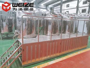 WZ100-1000升全套啤酒生产设备|啤酒设备