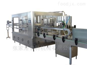 泰科机械全自动茶饮料灌装生产线
