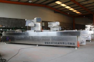 DZR-520卤蛋全自动拉伸膜真空包装机