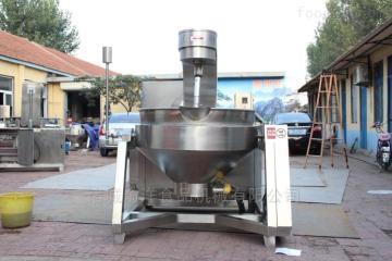 600L黃豆醬電加熱行星攪拌炒鍋設備