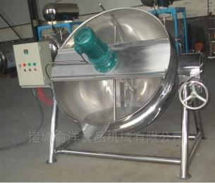 300L辣椒酱蒸汽行星炒锅设备