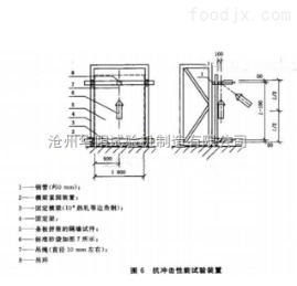 ZLD-6建筑隔墙用轻质条板抗冲击性能试验装置,隔墙板吊挂力装置,隔墙板试验设备