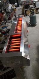 150*38*25烤魷魚烤扇貝大型酒店餐飲行業烤串爐液化氣