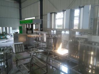 DFG貴州做煙熏豆腐干的機器,數控豆干機生產線
