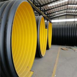 dn300鄭州市鋼帶hdpe螺旋波紋管便宜