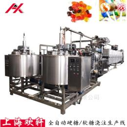 HX-TG150/300型棒棒糖浇注生产线 硬糖生产设备 薄膜熬煮机