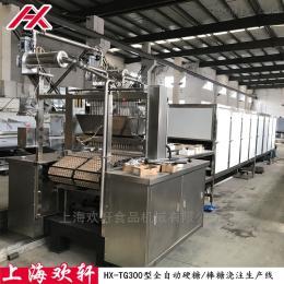 HX-TG300型全自动糖果浇注生产设备线