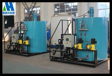 HMYTJ-1000大型pam一体化加药装置 用于污水处理