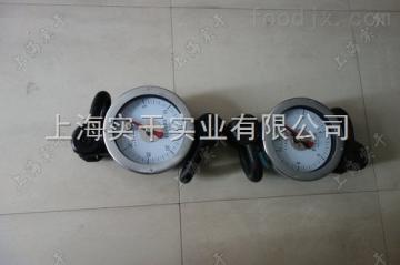 50KN圓盤式測拉力計,拉力測量專用的圓盤式儀表,圓盤式拉力測量儀表