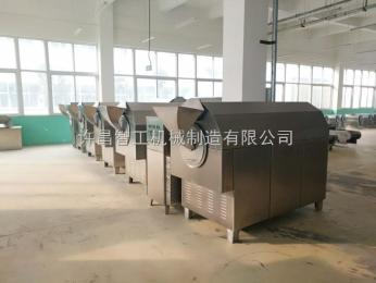 DCCZ 7-15炒制五香花生米生产设备 多功能电磁炒货机