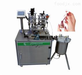ZHNP-30C化妝品單孔指甲油灌裝旋蓋機