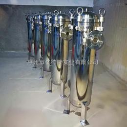 400*810*2亿德隆洛阳井水过滤镜面不锈钢袋式过滤器