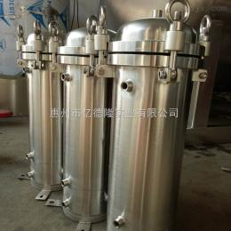 5芯20寸亿德隆洛阳自来水过滤加装液位管不锈钢保安过滤器