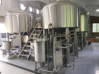 QH-2000L中小型精釀啤酒工廠生產線