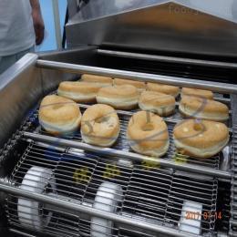 YP-5000優品電加熱甜甜圈油炸機 炸面包片流水線