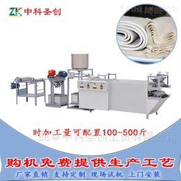 DP-時產100斤~600斤全自動雙層豆腐皮機,大型千張生產線廠家