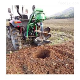 YJ-X拖拉机带挖坑机
