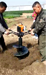 YD-TF40各种果树种植挖坑机参数报价
