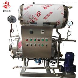 400/600喷淋式热水循环果干杀菌锅