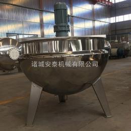 AT-600L固定立式夹层锅 大型蒸煮锅