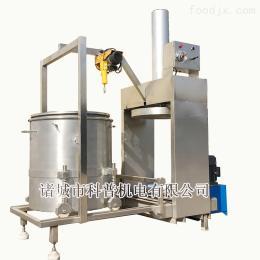 300L磷蝦蝦粉蝦油脫干壓榨設備 高硒蝦壓榨機