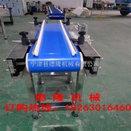 dl-0081藍色皮帶輸送機食品級網帶輸送機皮帶轉彎機自動化流水線