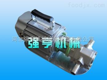 WCB银川强亨机械WCB手提式齿轮泵稀油皂液专用泵