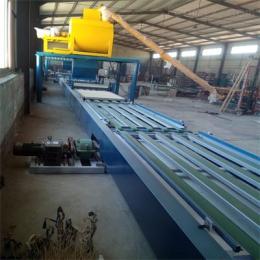 全自动防火玻镁板生产设备厂家生产流程简介