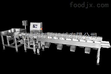 BHFX-LB350-F8提高精準度鏈板式多級重量分選機