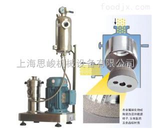 GMSD2000/4石墨碳管復合材料研磨分散機