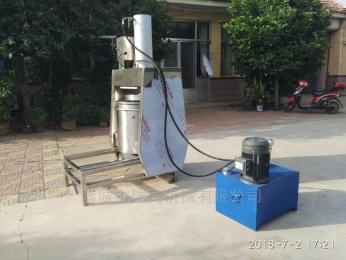 YM-100自动高效液压果汁 酒糟压榨机 脱水设备