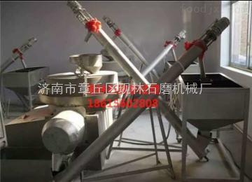 100型电动全自动型石磨面粉机,五谷杂粮磨粉机