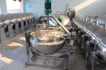 JCG供应蒸汽搅拌夹层锅 驴肉蒸煮夹层锅