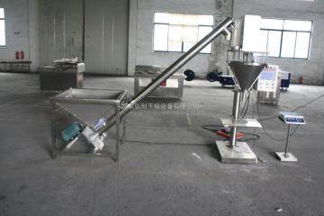 LXJ制药,化工,食品,奶粉冲剂包装机吸粉机,吸料机器ZD螺旋上料机 药厂加料机