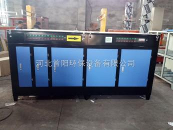 徐州75平喷漆房光氧净化器+喷淋塔+活性炭吸附保证无异味