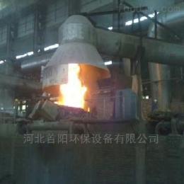 全碳素厂安装电炉除尘器旋转吸尘罩带轴承价格