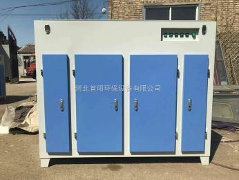 SY-GY-3塑料厂再生造粒机配废气处理光氧净化设备