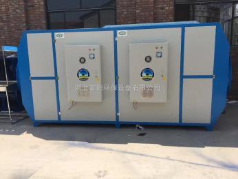 橡胶厂等离子废气净化器搭配活性炭过滤箱使用效果