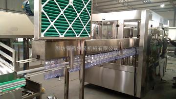 RFC18-18-6500mlPET瓶全自動沖洗罐裝擰蓋一體機