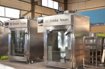 小型臘腸煙熏爐,臘腸加工設備